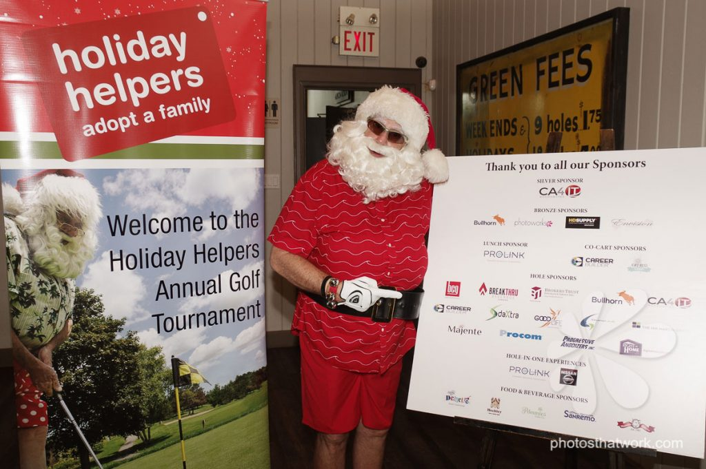 Golf Tournament Photography Corporate Donors for Charities
