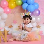 Cake smash photographer – Unicorn cake smash