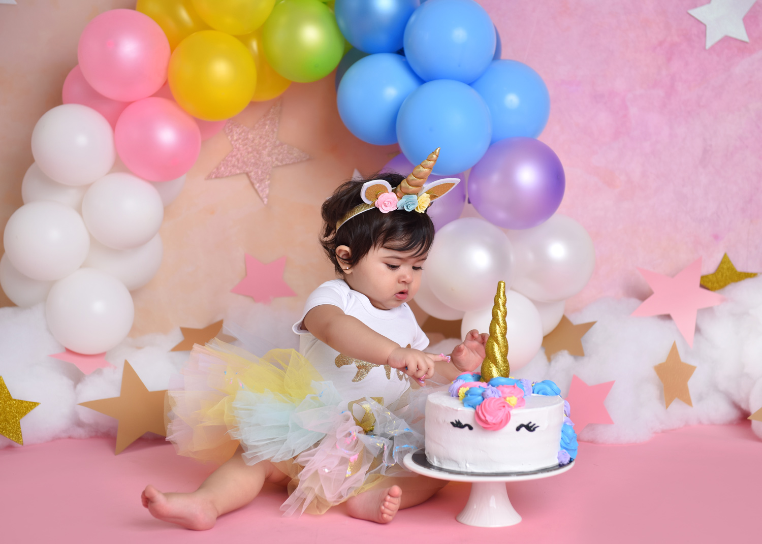 Cake smash photographer-First birthday