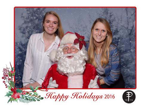 Corporate Santa Photos