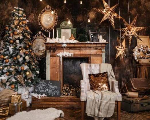 rental christmas backdrop