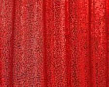 Red Sequins Rental Backdrop