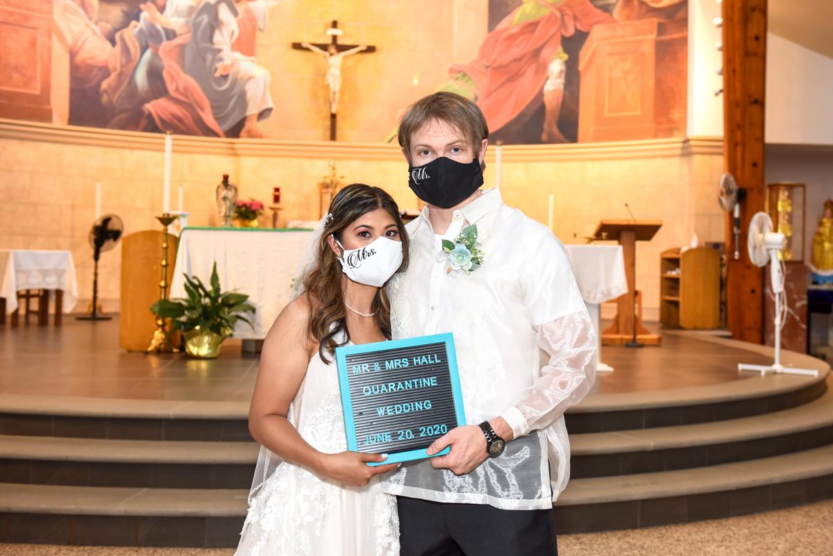 Pandemic wedding 2020